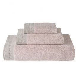 Set de Toallas Home Rosa Pastel