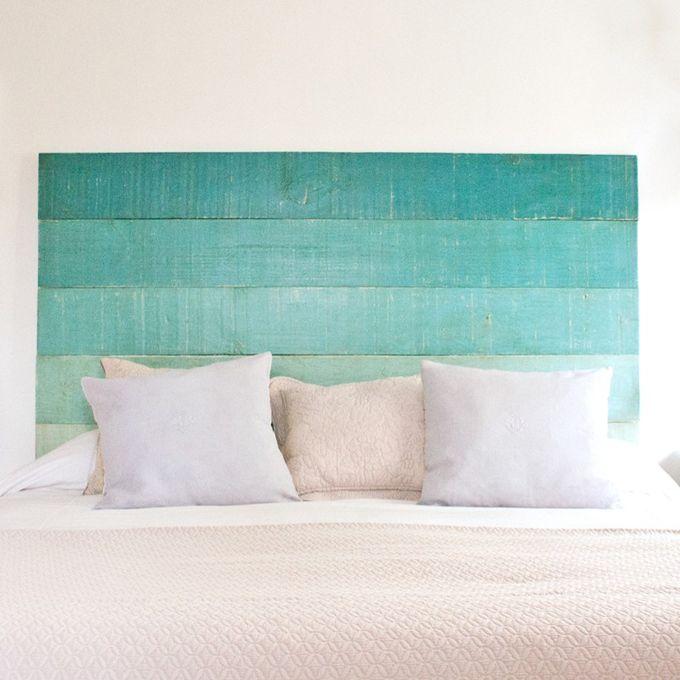 Cabeceros de madera decoraci n diy blog de manterol casa - Camas sin cabecero ...